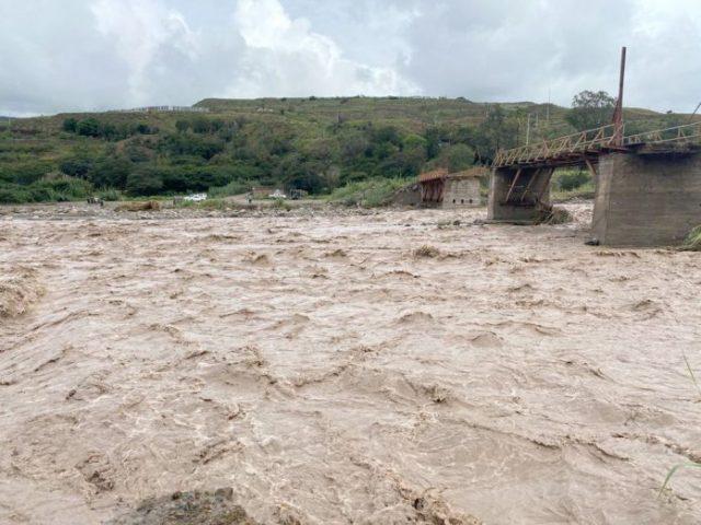 Las lluvias causan estragos en Azuay y Cañar